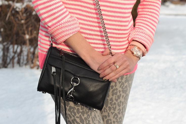 black mini mac and bracelets