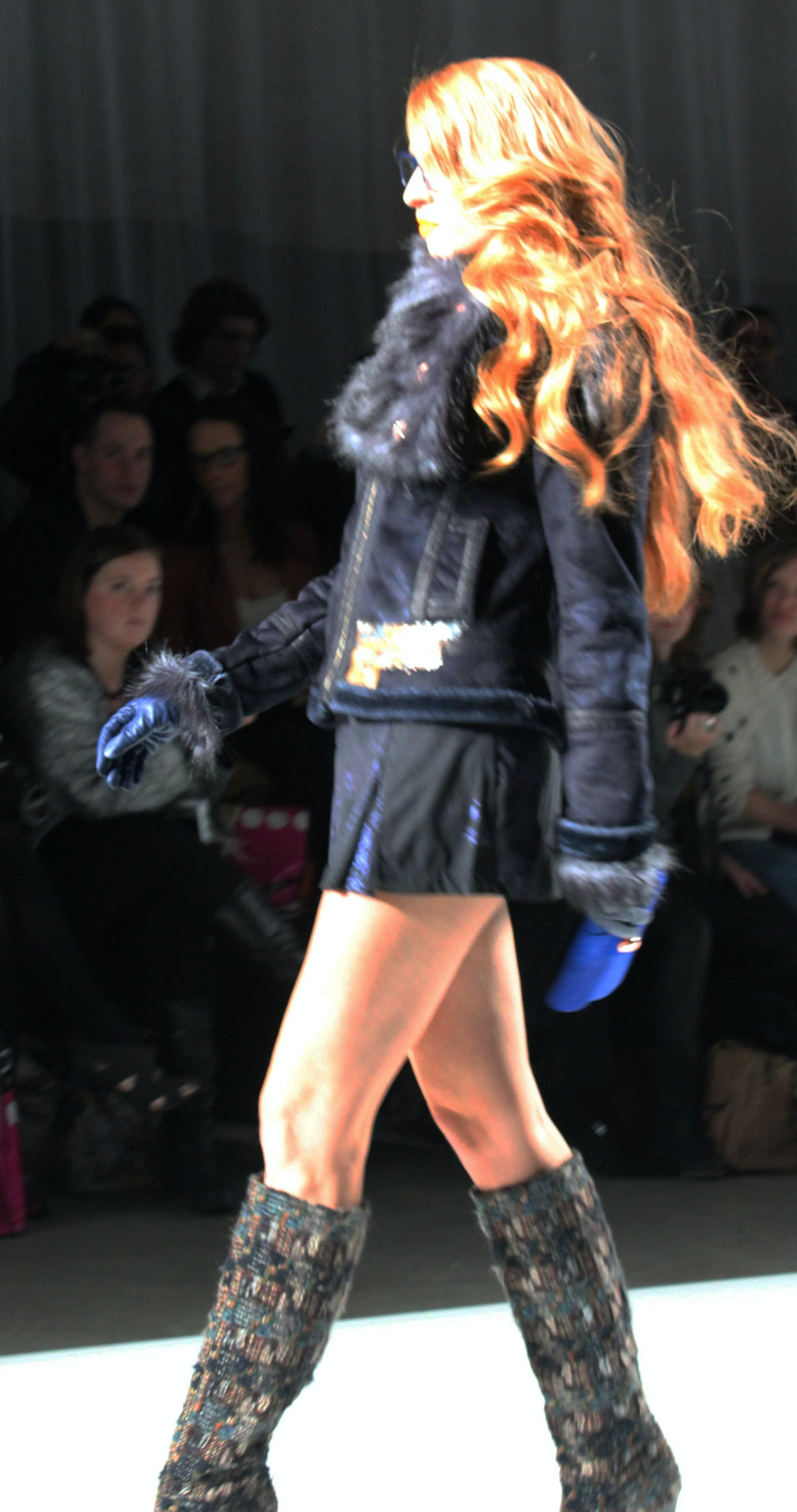 Custo Barcelona Fall 2012 Show – AFW