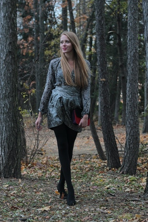 blogger wearing isabel marant for h&m