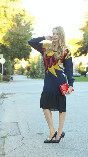 boom sweater dress phillip lim for target