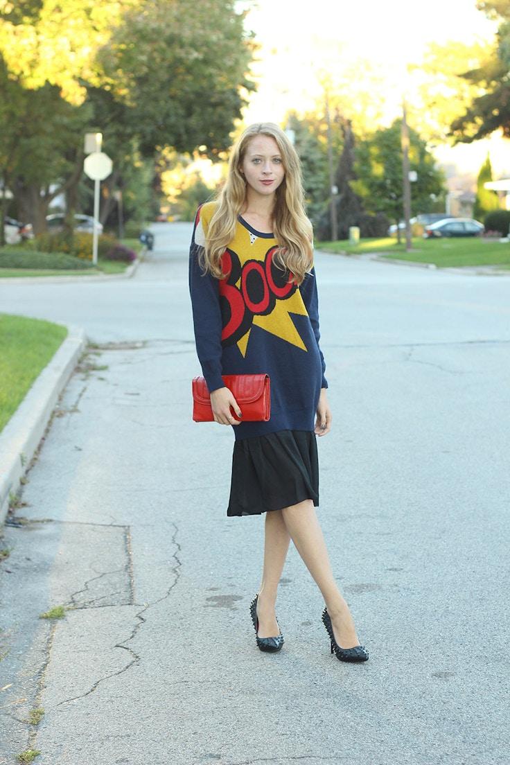 boom sweater dress phillip lim