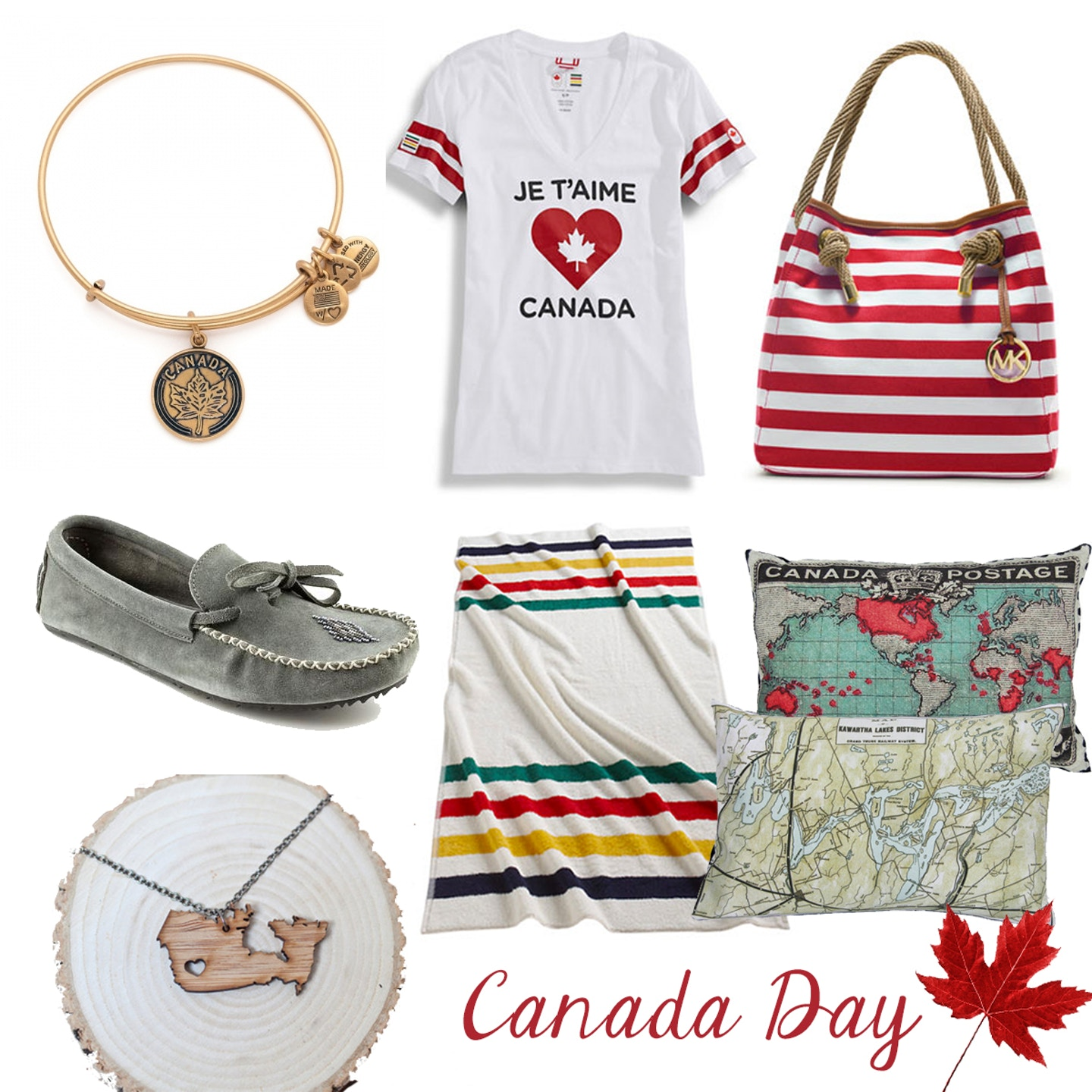 Celebrate Canada Day with Canadian-inspired fashion