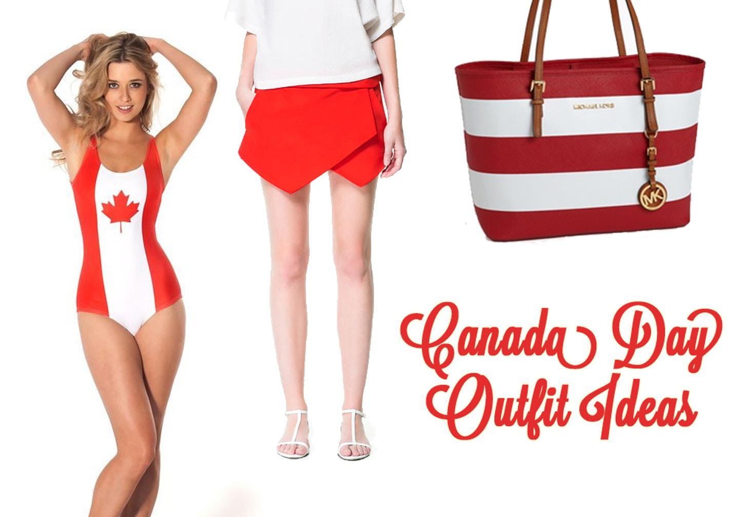 Cute Canada Day outfit ideas