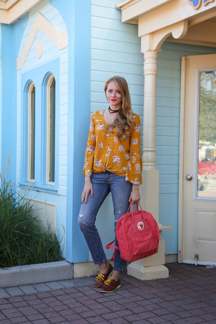 how to wear fjallraven backpack