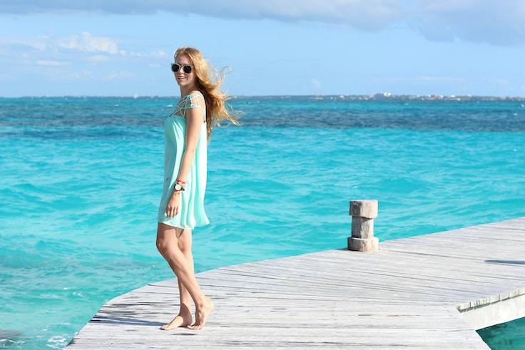 caribbean sea blue cancun