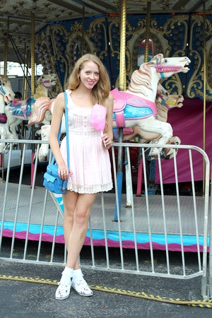carousel and cotton floss