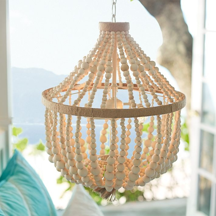 how to decorate your dorm room with catalina beaded chandelier pottery barn dorm