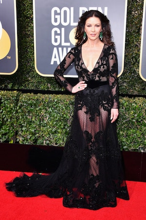 catherine zeta-jones golden globes 2018
