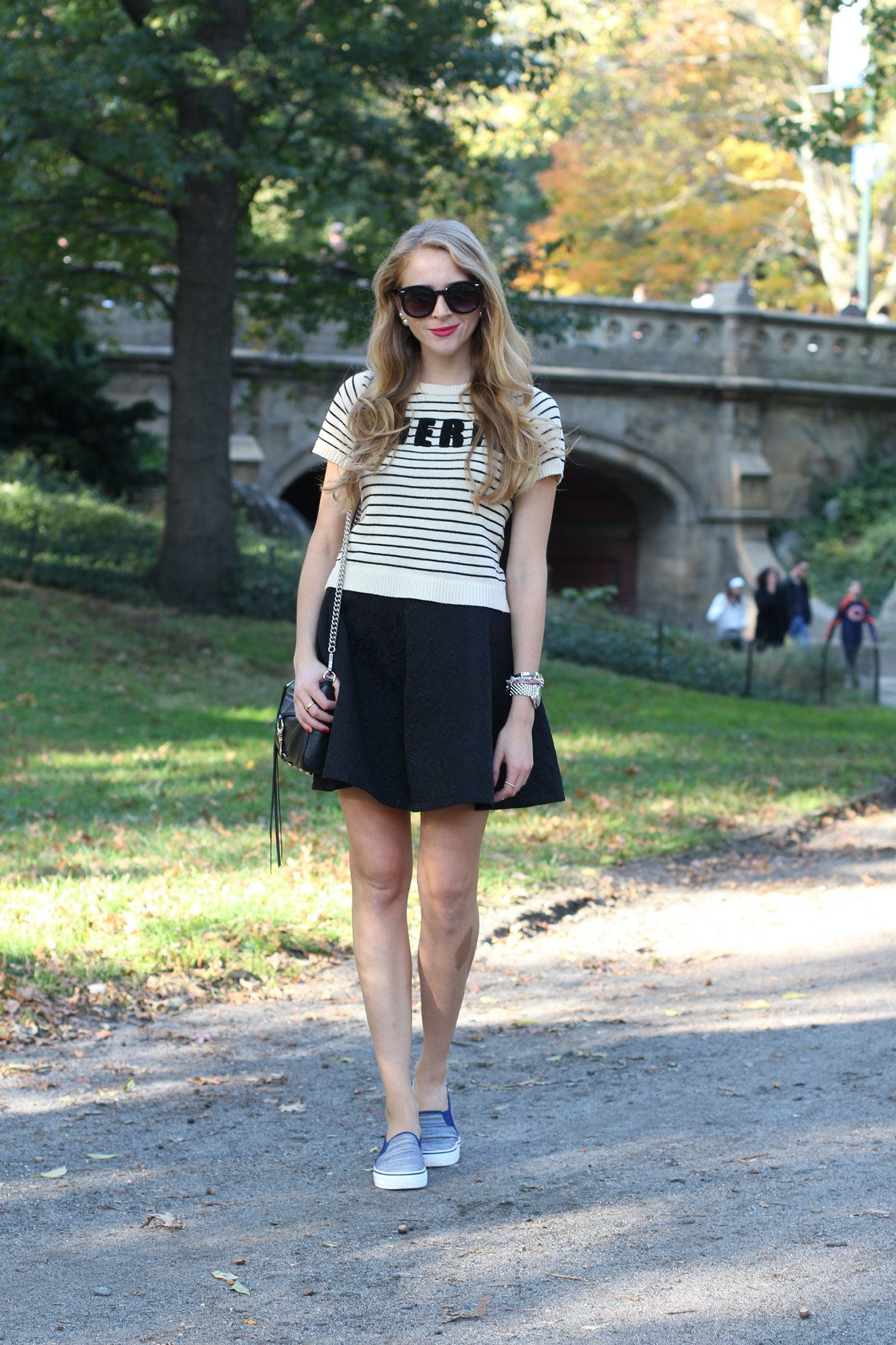 fall in central park outfit