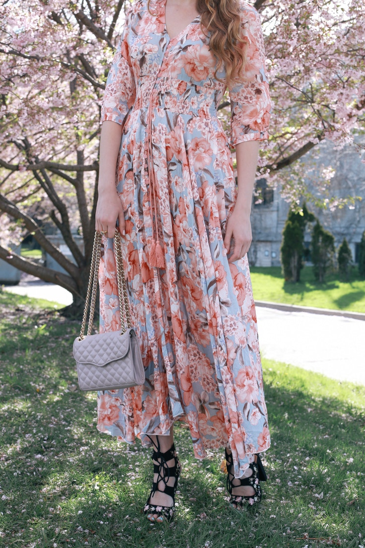 cherry blossom print dress (4 of 11)