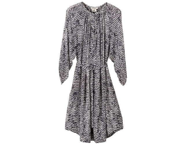 chevron print dress isabel marant for h&m