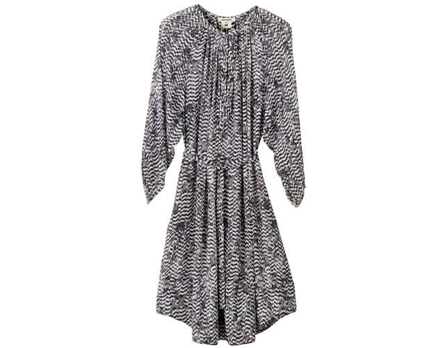 chevron print dress isabel marant for h&m