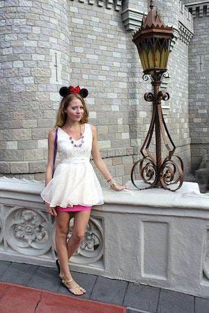 cinderella castle lantern