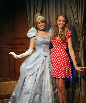 cinderella meet and greet
