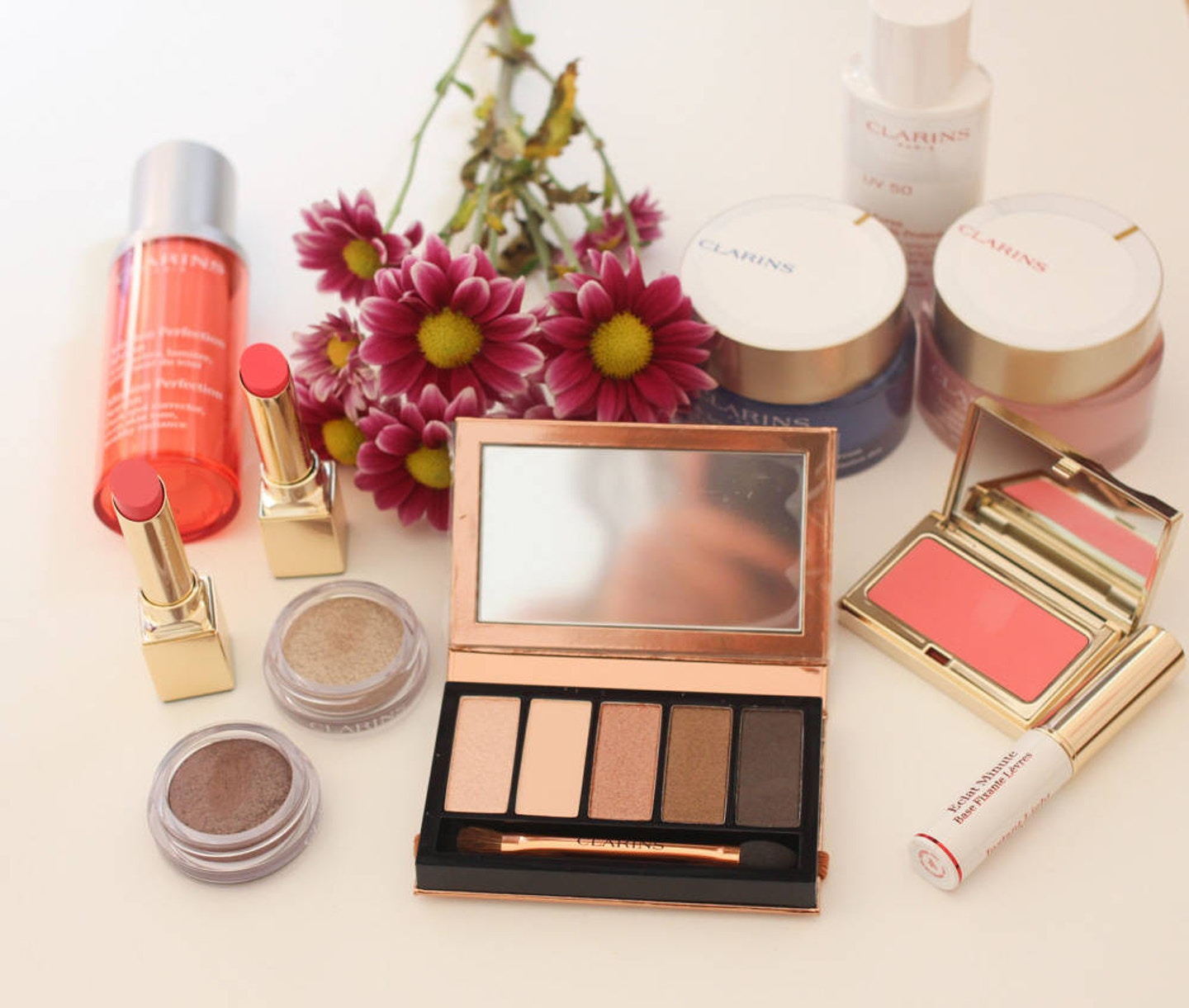Clarins Multi-Active Review + a Spring Beauty look