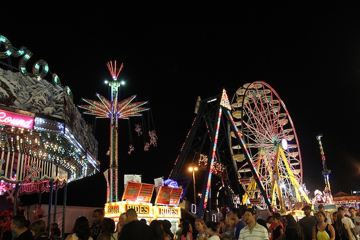 cne midway at night