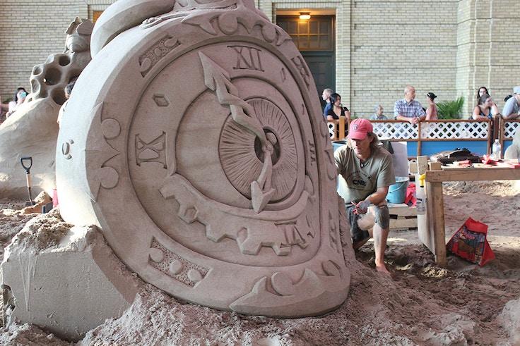 cne sand sculpture 2013