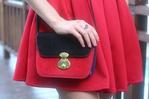 colorblock purse