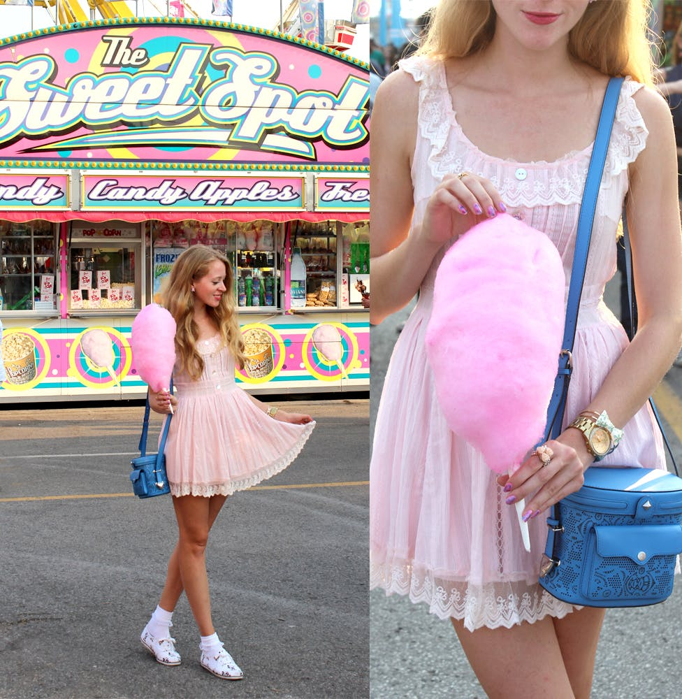 The Sweet Spot Candy Floss