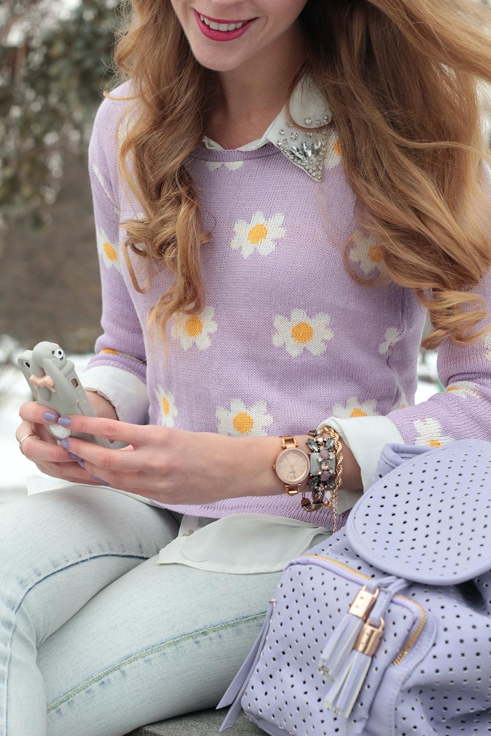 daisy sweater moschino rabbit iphone case