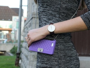 daniel wellington watch chanel phonecase