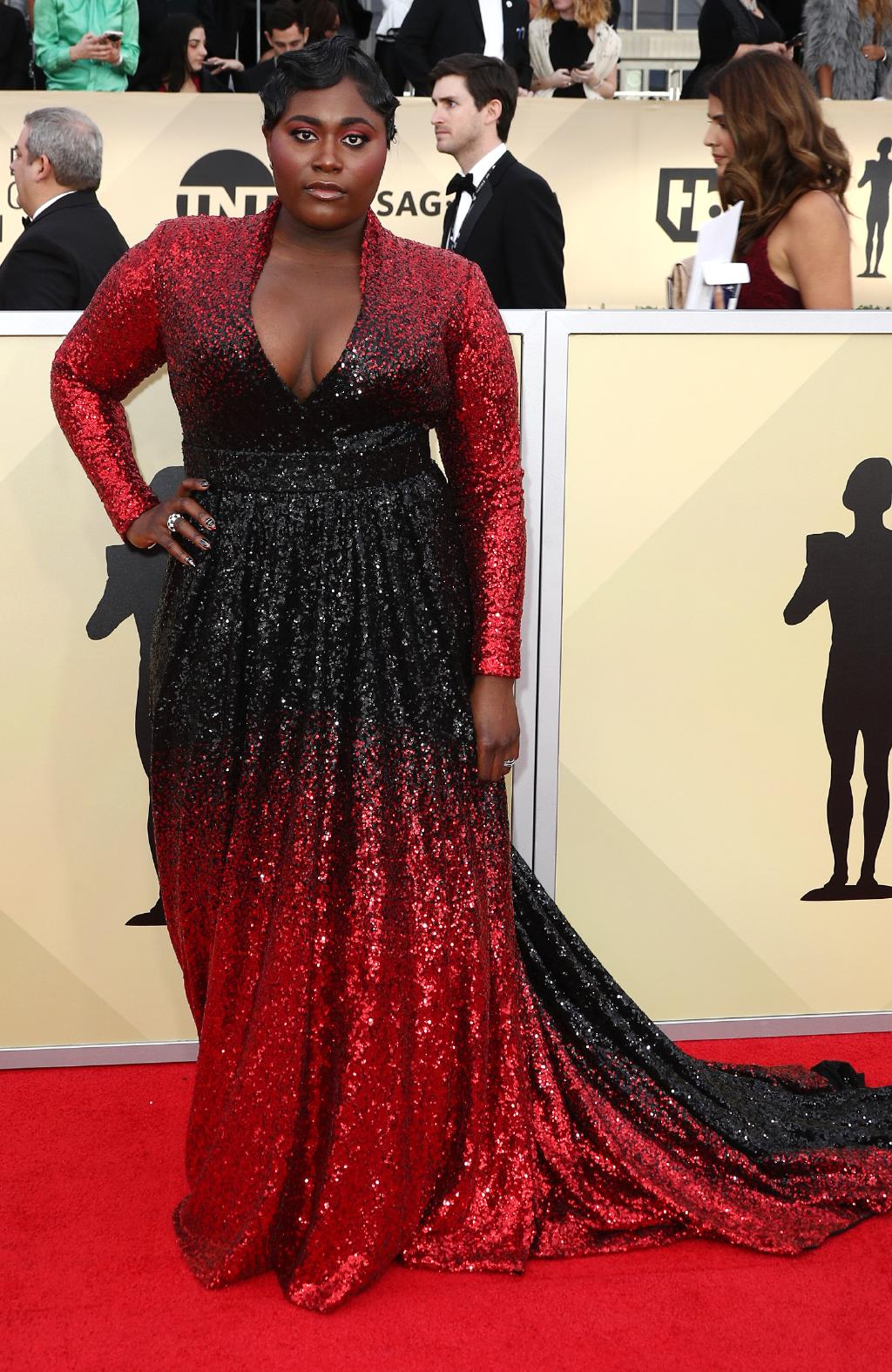 danielle brooks 2018 sag awards