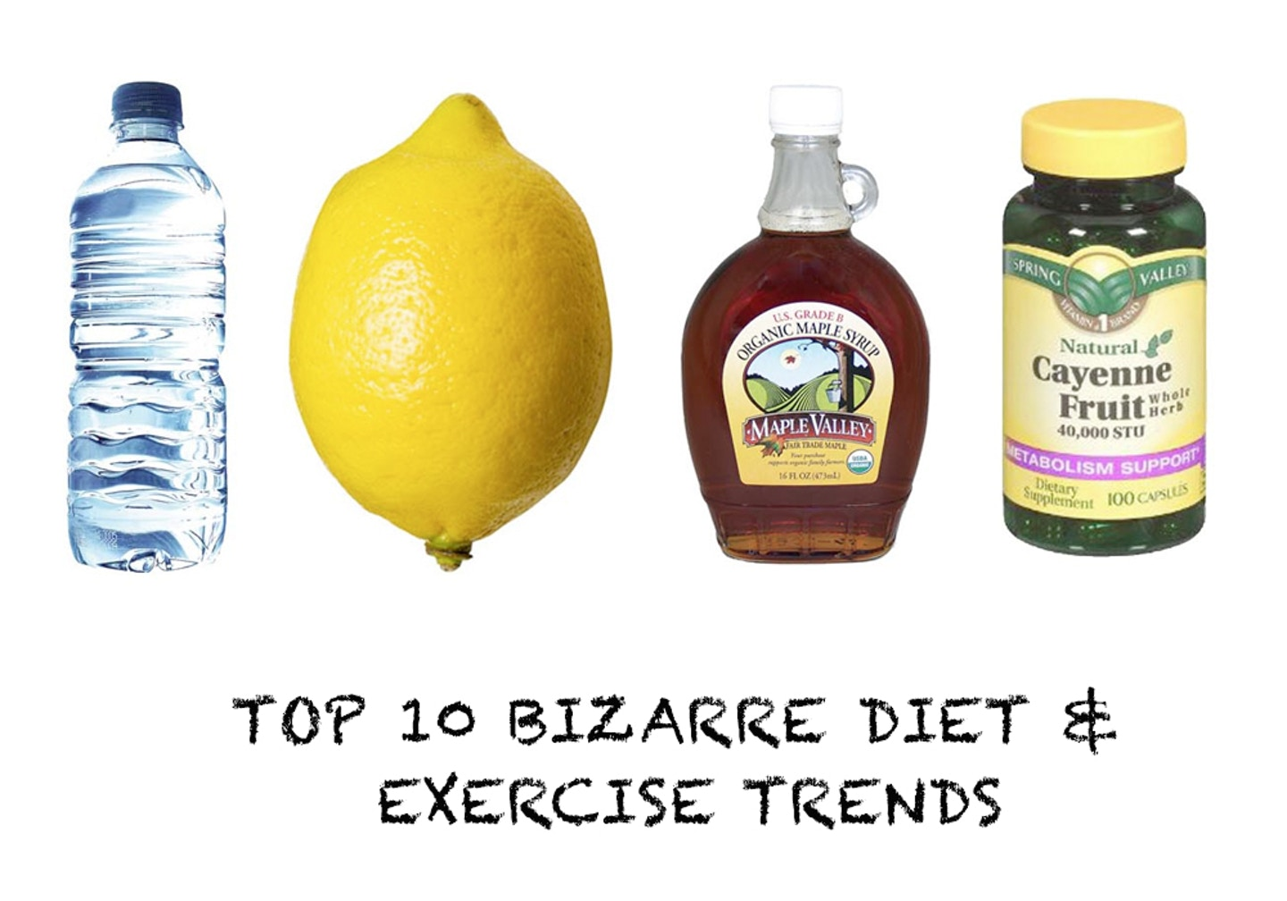 Top 10 bizarre diet and exercise trends