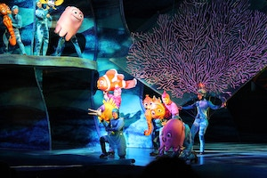 disneyworld animal kingdom finding nemo show