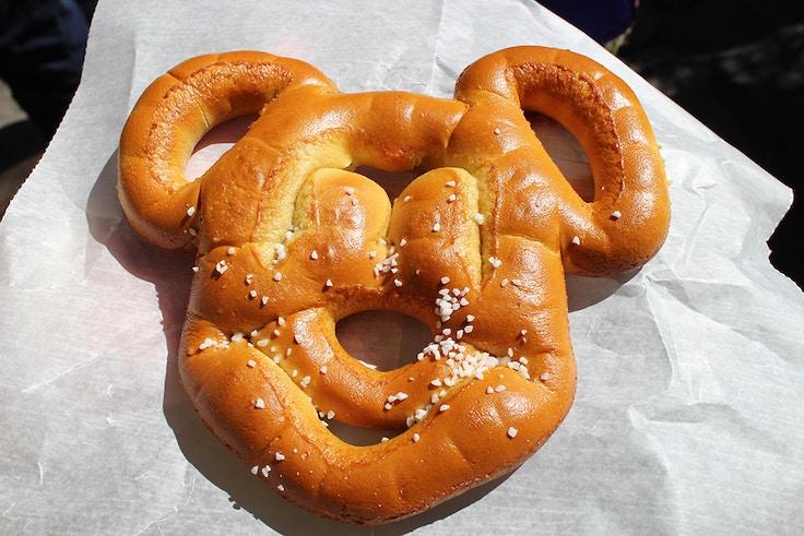 disneyworld animal kingdom mickey pretzel