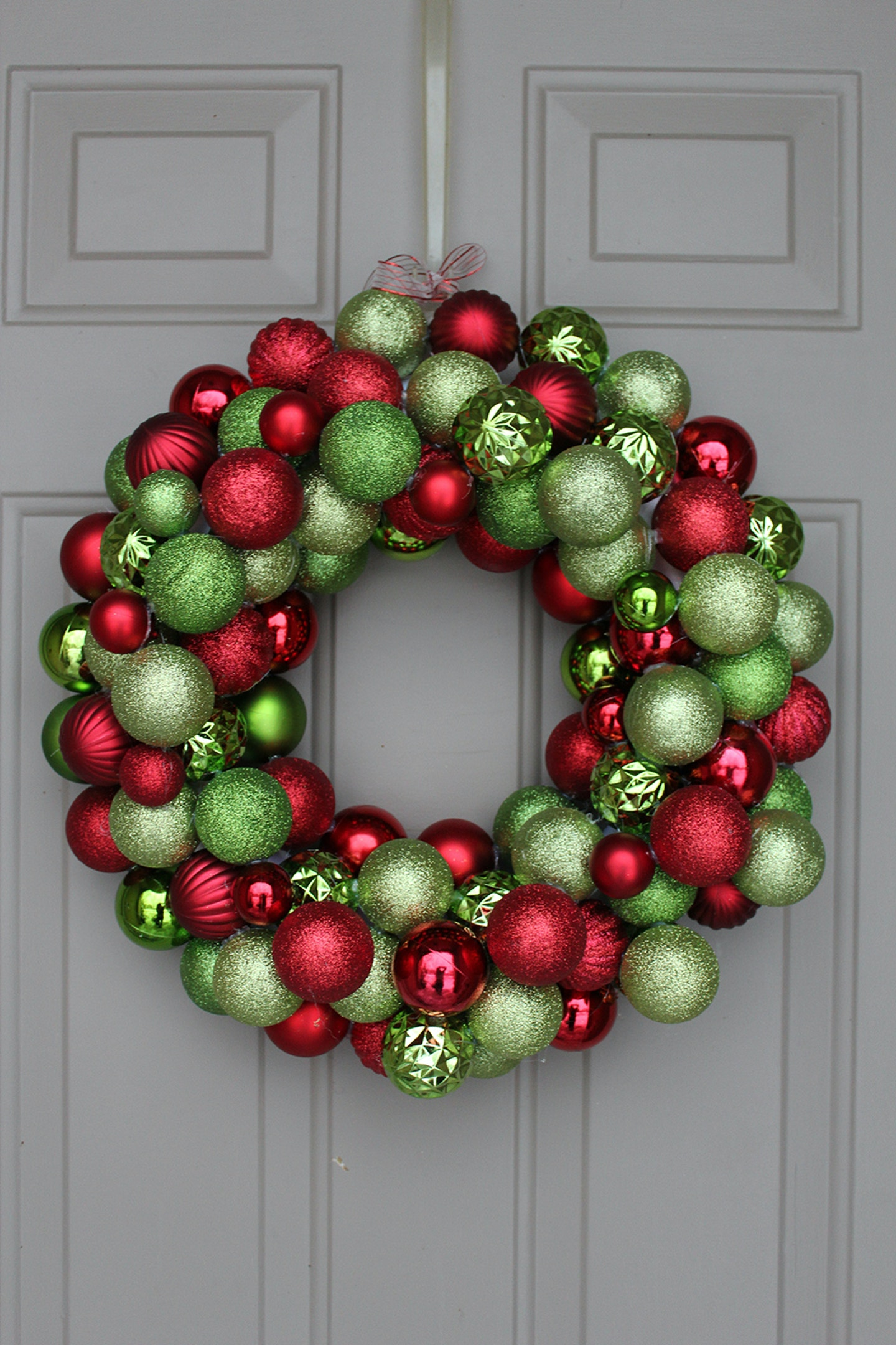 DIY: Ornament Wreath under $30