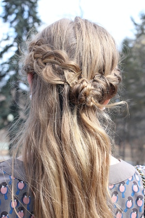 dutch braid crown hairstyle