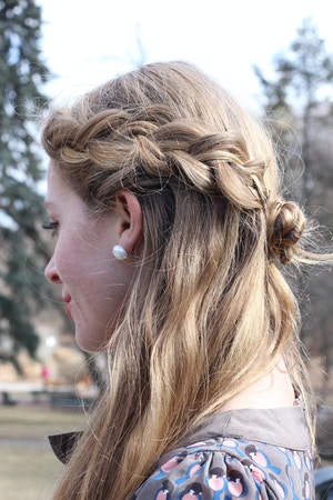 dutch braid hairstyle 2