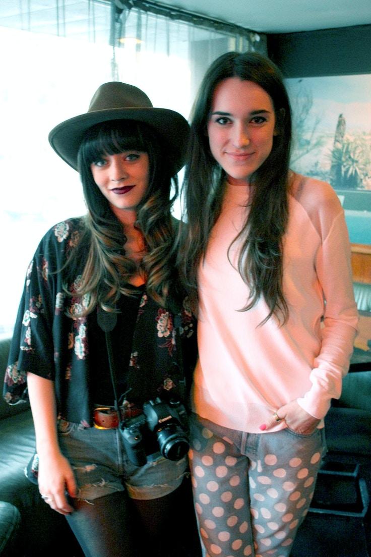 Rachel Marie and Elle Frost