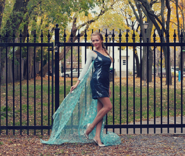 Elsa Frozen Halloween Costume