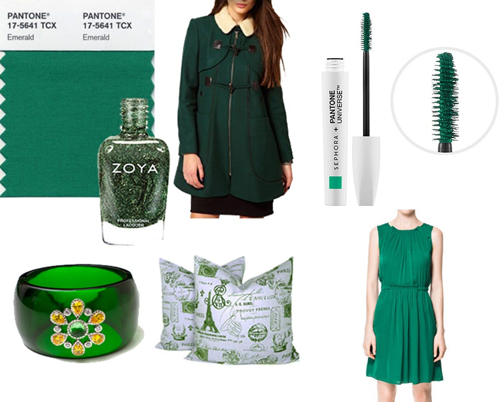 How to Wear Emerald – Pantone's 2013 Color of the Year