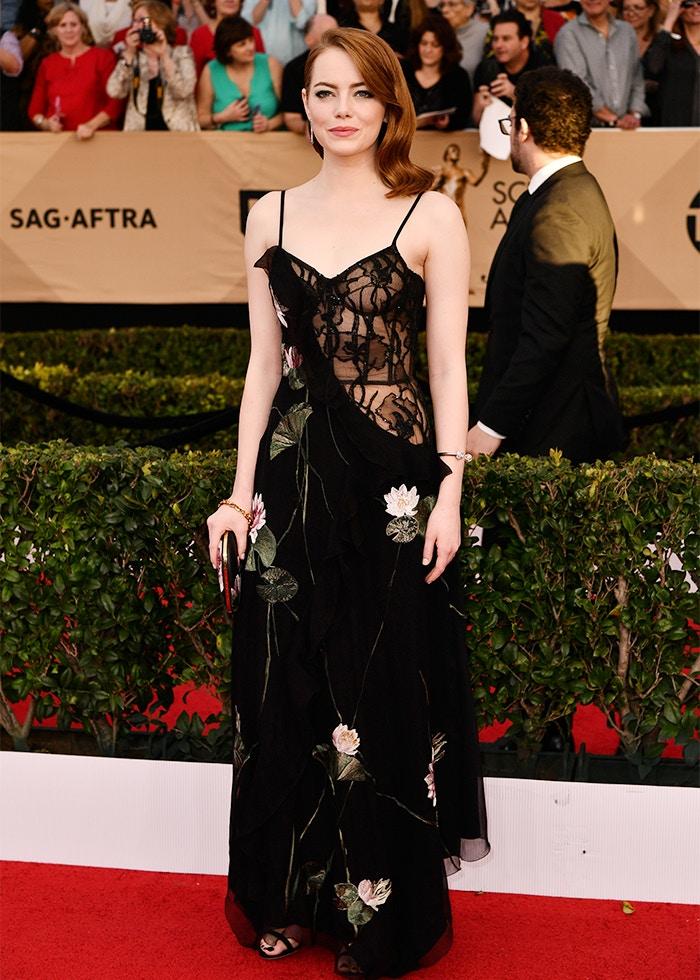 Emma Stone SAG Awards 2017