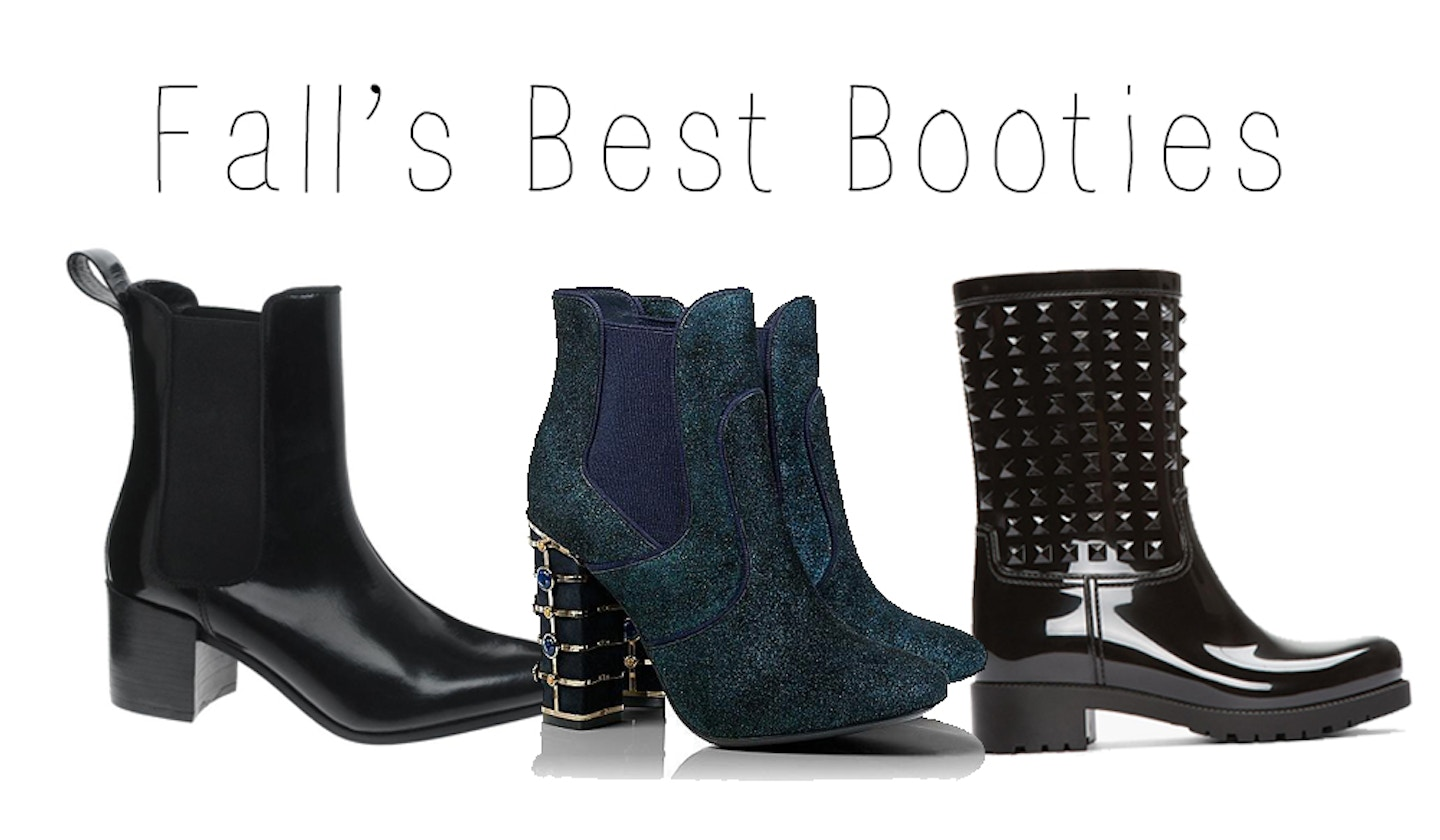Fall's best booties