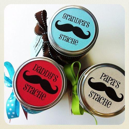 father's day gift idea diy candy jar