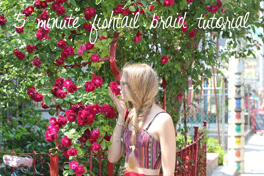 How to do a fishtail braid in under 5 minutes