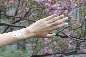 flash tattoo bracelet