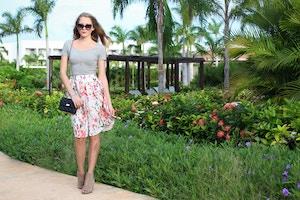 floral midi skirt (4 of 6)
