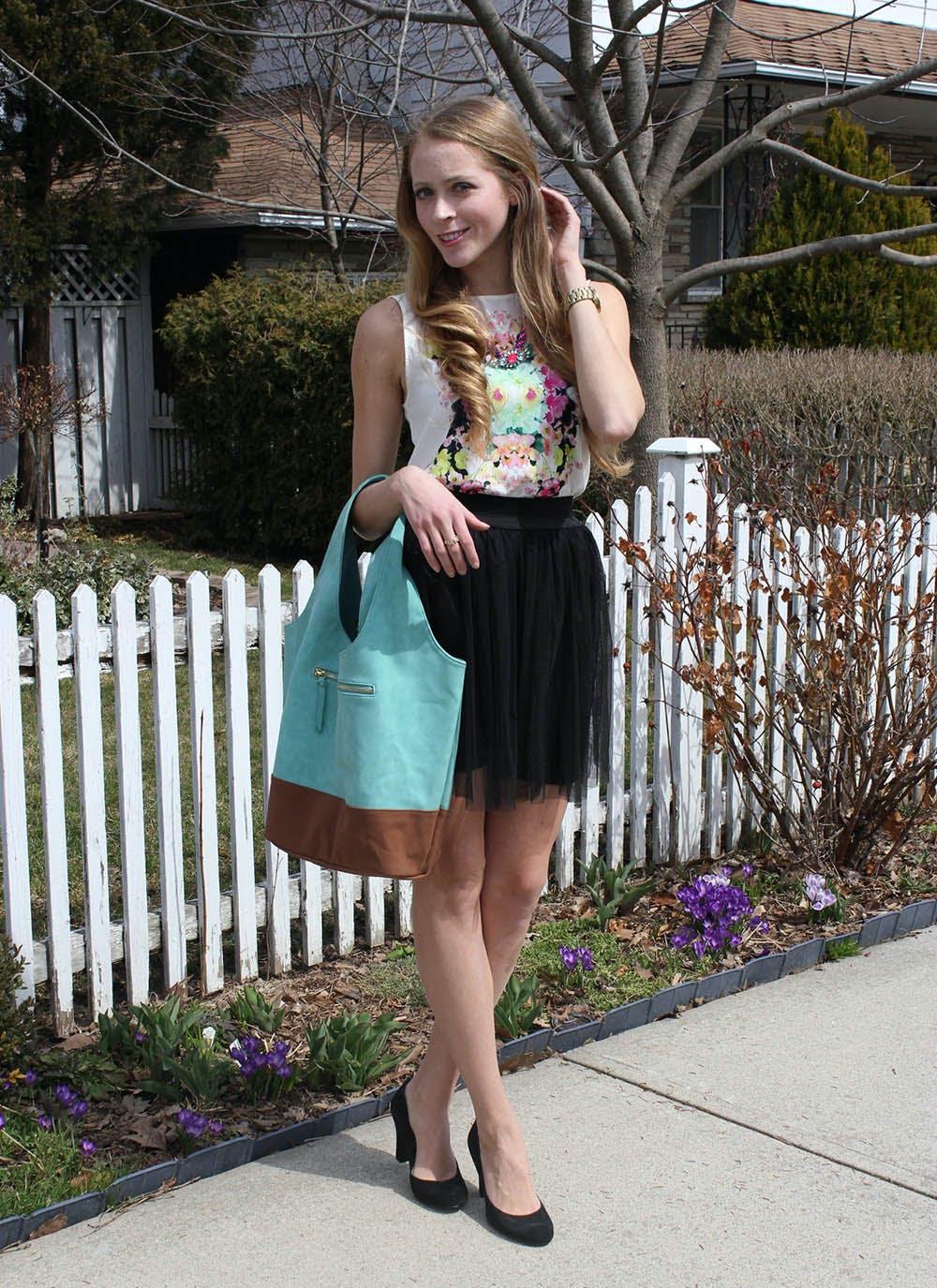 Taste of Spring + Giveaway: Mint Tote