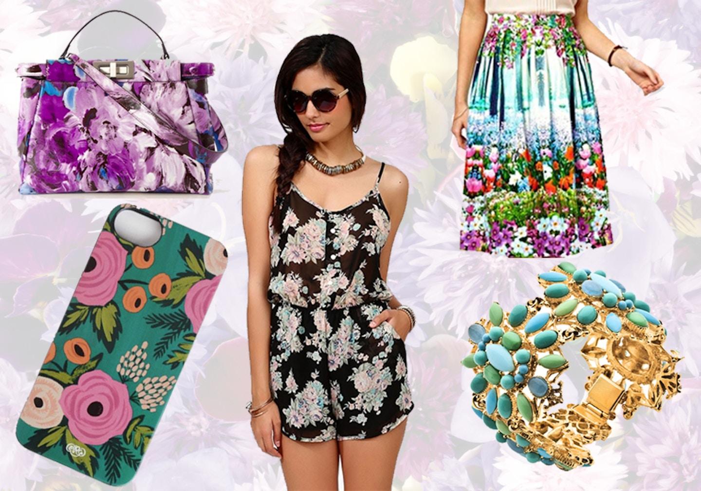Floral Fashion Wishlist