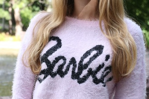forever 21 barbie sweater