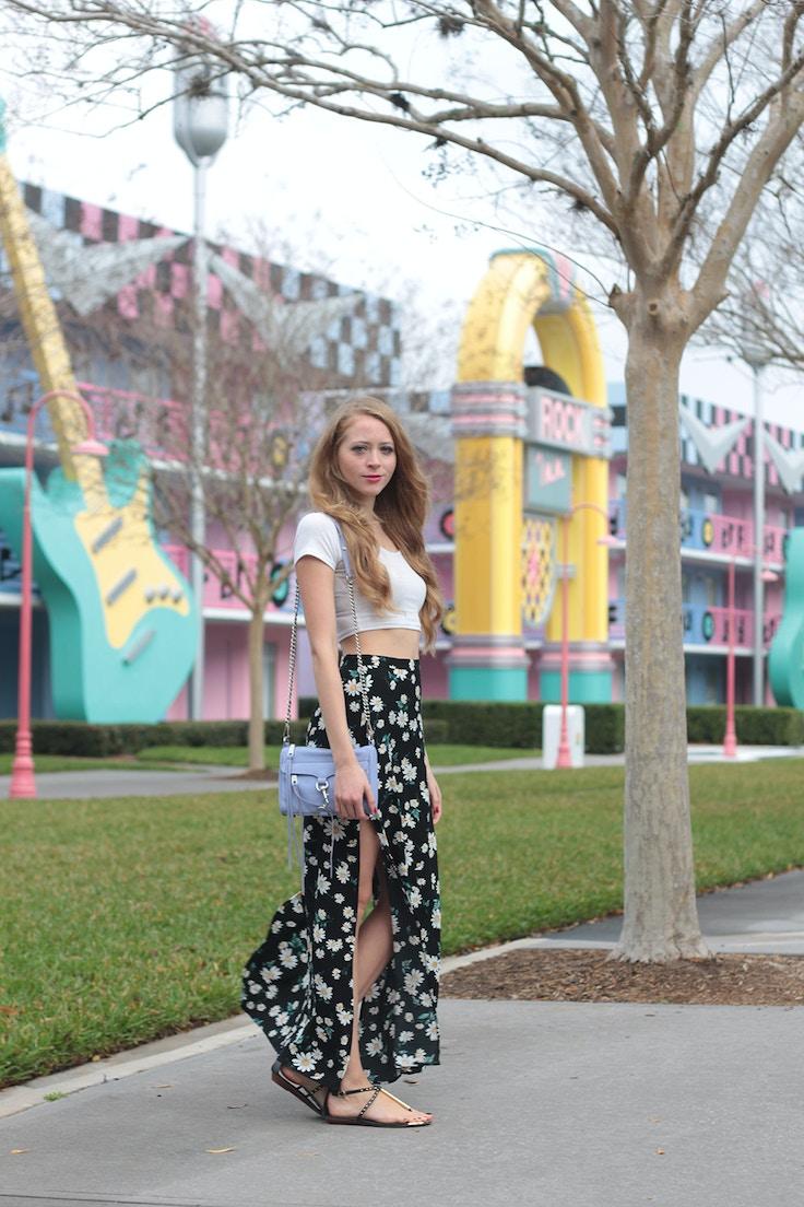 forever 21 daisy maxi skirt 4