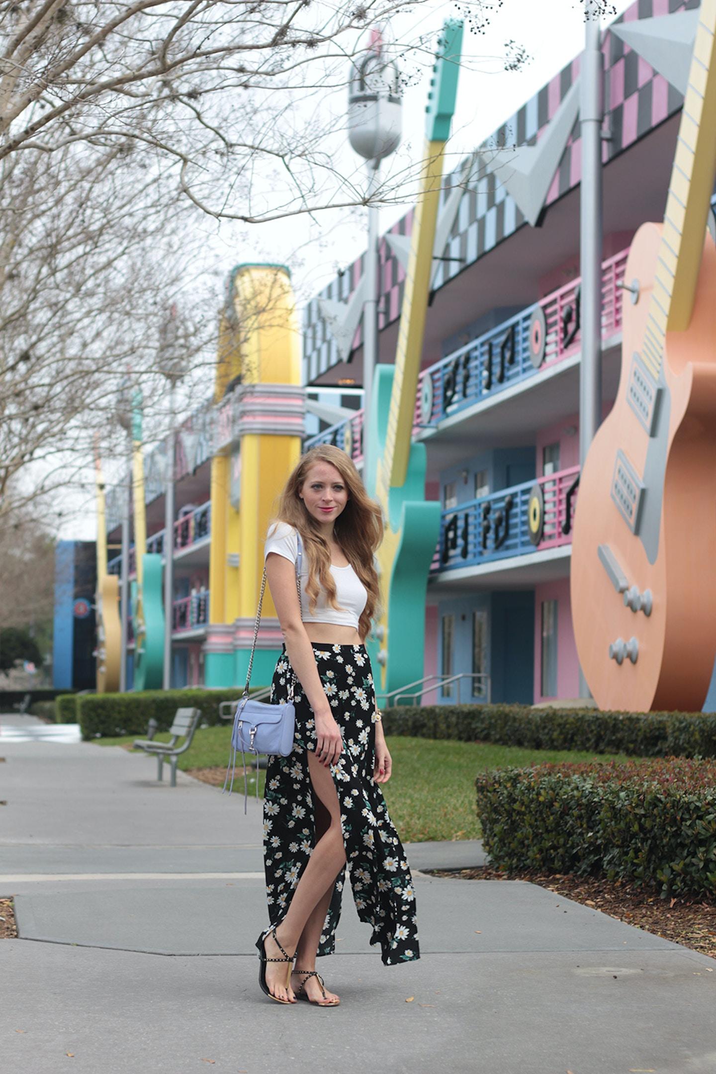 Pushing Daisies: Forever 21 Daisy Maxi Skirt