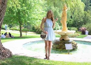 forever 21 light blue halter dress (8 of 8)