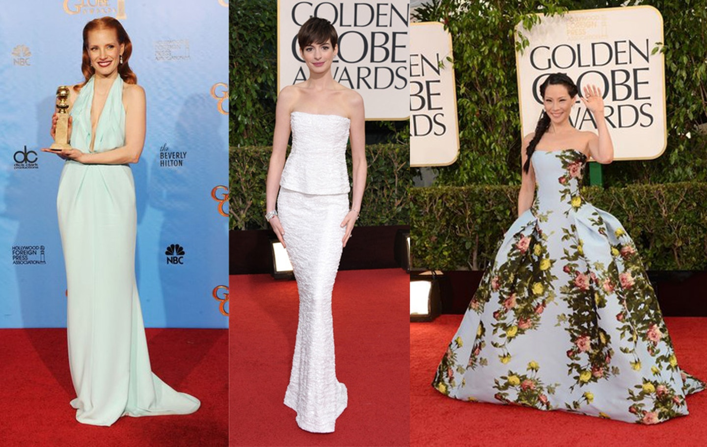 Best and Worst Dressed – 2013 Golden Globes