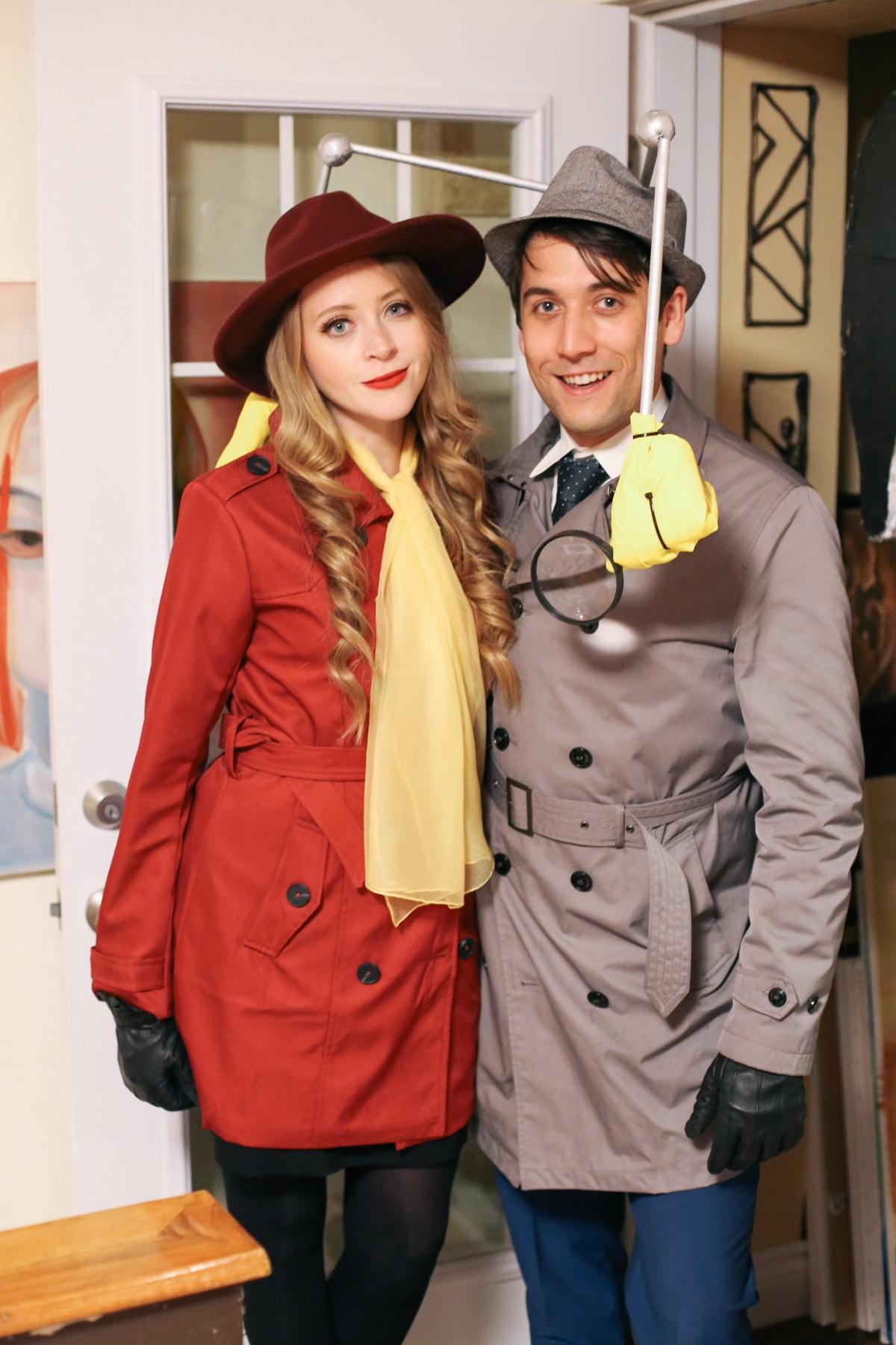 carmen sandiego halloween costume inspector gadget