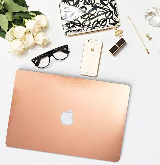 Gold Macbook Air Giveaway